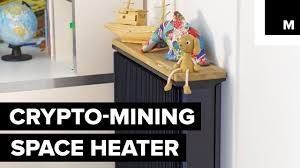 100 This Warm House Space Heater Mines Bitcoin While Keeping Your YouTube
