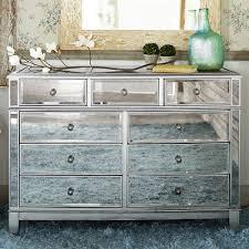 Hayworth Mirrored Silver Dresser