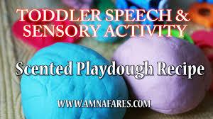 Pumpkin Spice Jello Playdough by Scented Playdough Recipe Toddler Speech And Sensory Activity