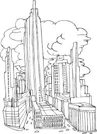 Lovely New York City Coloring Pages 29 In Gallery Ideas With