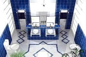 Royal Blue Bathroom Decor by Royal Blue Bathroom Decor And Gold Accessories Best Bathrooms