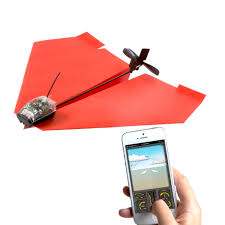PowerUp 3 0 Smartphone Controlled Paper Air Plane Set PowerUp