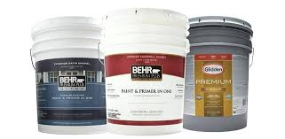 5 Gallon Exterior Paint 5 Gal Art District Satin Enamel Exterior