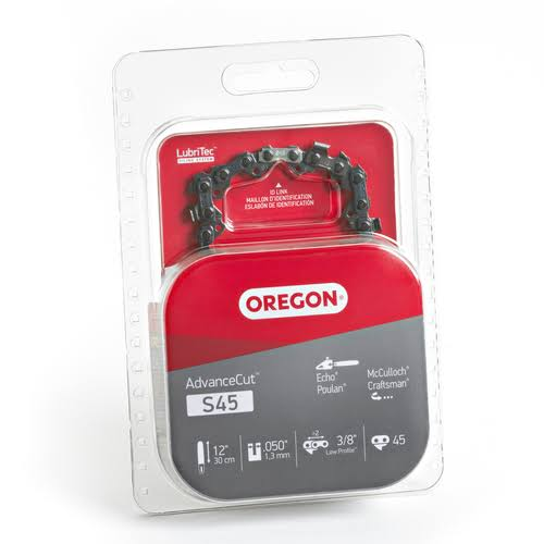 Oregon S45 Chainsaw Chain - 12""