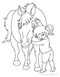 Spirit Horse Coloring Pages Free Horses Of