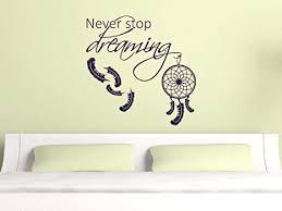 grazdesign schlafzimmer wandaufkleber spruch auf