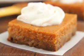 Epicurious Pumpkin Pie Brulee by Pumpkin Pie Bars With Greek Yogurt Whipped Cream Amy U0027s Healthy