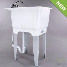 Mustee Mop Sink Specs by Laundry Sink Ebay