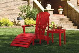 Red Adirondack Chairs Polywood by Furniture Charming And Unique Teak Adirondack Chairs For Outdoor