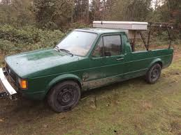 1981 Volkswagen Rabbit 1.6 V4 Manual Pickup Truck For Sale Eugene, OR