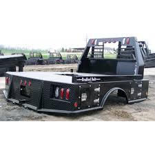 Bradford Built Flatbed 4 Box Steel