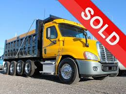 100 Used Quad Axle Dump Trucks For Sale 2011 FREIGHTLINER CASCADIA FOR SALE 2646