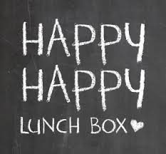 Happy Lunch Box Hop Note Love