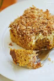 Marbled Pumpkin Cheesecake Bars by Pumpkin Cream Cheese Coffee Cake Finding Zest