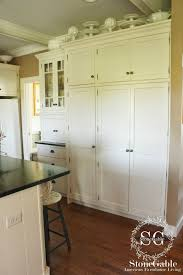 White Cabinets Go A Long Way To Set Farmhouse Style Mood