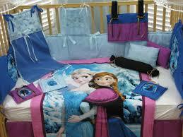 Frozen Bed Set Queen by Disney U0027s Frozen Queen Elsa And Princess Anna 15 Piece Baby Bedding