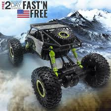 100 Scale Rc Trucks 4WD 24 GHz High Speed Remote Control Car 118 Off Road RC