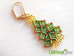 Cherishing The Sincere Affection And Wish You Can Make Splendid Beaded Christmas Tree Ornaments To Your Friends As Unusual Gifts