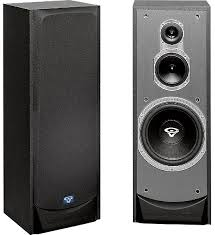 cerwin vega v 10f floor standing speakers review and test