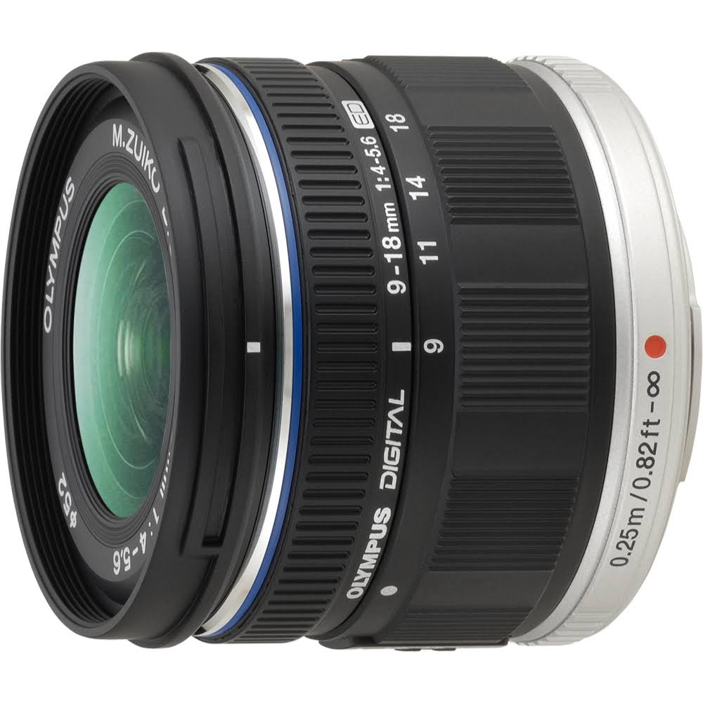 Olympus Micro Four Thirds Lens - 9-18mm, f/4.0-5.6