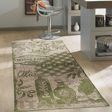 qonei küchenteppich teppich läufer küche bunt rutschfest