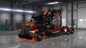 WESTER STAR 5700 OPTIMUS PRIME V1.4 FOR ATS MOD - American Truck ...