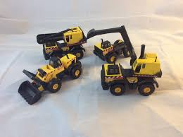 Set Of 4 Mini Tonka Truck Toys - 1997 Vintage Construction Toy ... 4runner Tonka Trucks Stretch Tundras And Soedup Vans Surprise Blind Boxes Mini Trucks Youtube Tinys Complete Collection By Funrise Hasbro Antiques Art Vintage Truck Crane 1902547977 Cheap Trophy Find Deals On Line At 197039s Toys A Scraper In Yellow Dump Jumbo Foil Balloon Walmartcom 1970s 5 Pressed Steel Lot Set Of 9 Diecast Review Wagoneer With Snowmobile Trailer 1081