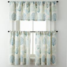 Jcpenney Home Kitchen Curtains by Coraline Rod Pocket Kitchen Curtains Jcpenney
