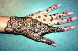Henna Temporary Tattoos For Hand Women Pictures