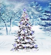 Musical Christmas Tree White Resizer