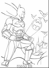 Good Batman Coloring Pages With Free And Online