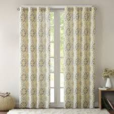 Dkny Mosaic Curtain Panels by Buy Yellow Panel Curtains From Bed Bath U0026 Beyond