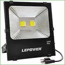 lighting led outdoor flood lights pryeu led motion pir