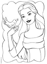 Barbie Princess Coloring Pages Games