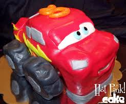 Hot Pink! Cakes: Lightning McQueen Monster Truck Cake
