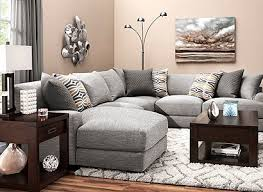 Raymour And Flanigan Grey Sectional Sofa by Leighton Contemporary Living Room Collection Design Tips U0026 Ideas