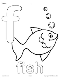 FREE Printable Lowercase Letter F Coloring Page Worksheets Like This Are Perfect For