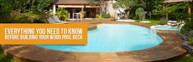 8x8 Pool Deck Plans by Wood Pool Deck Everything You Need To Know Before Building Your Own