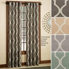 Moroccan Lattice Curtain Panels by Moroccan Style Home Decor Touch Of Class