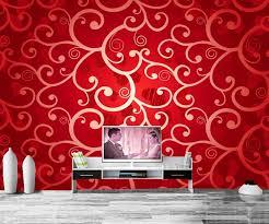 benutzerdefinierte papel de parede rot textur maßwerk tapeten wohnzimmer tv sofa wand schlafzimmer restaurant wasserdichte tapete