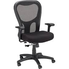 Staples Osgood Chair Brown by Tempur Pedic Mesh Mid Back Executive Chair Quill Com