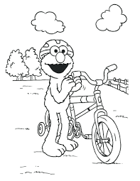 Printable Elmo Coloring Sheets Baby Pages Full Size
