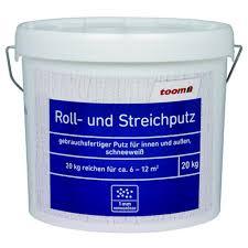 toom roll und streichputz 20 kg