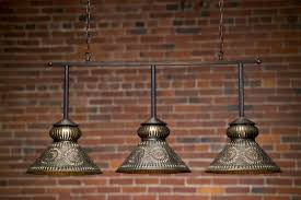 Large Punched Tin Lamp Shades by Colonial Lighting Chandeliers Post Wall Lanterns Tin Lighting