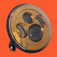 7 daymaker replacement gold hid led light bulb headlight