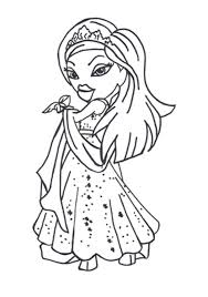Bratz Coloring Pages To Print Free For Girls 211x300