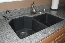 Black Kitchen Sink Faucet by Furniture Modern Kitchen Design With Silestone Vs Granite And