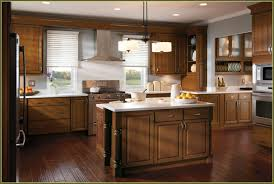 Menards Unfinished Hickory Cabinets by A Beautiful Kitchen Design Using Schrock Cabinets Designed By