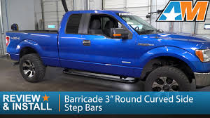 """2009-2014 Ford F-150 Barricade 3"""" Round Curved Side Step Bars Review ... Nerf Bars F150 Custom Pinterest Bar And Step Streamline Chrome Generaloff Topic Gmtruckscom Hdx Stainless Drop Wheel To Westin Automotive Truck Amazing Wallpapers Magnum Rt Steps Genx Oval Archives Trucks Rolling Big Power Rx3 Step Bar Ici Barricade Silverado 3 In Rocker Mount Side Black Southern Outfitters Premier 6 Cab Length Alterations"""