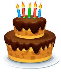 Fall clipart birthday cake 1